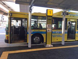 第2ターミナルから第3ターミナルへ向かう連絡バスのルートが短縮された