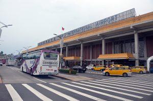 台北市内中心部にある松山空港