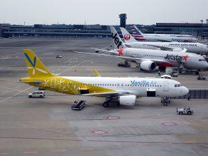 国内LCCの台湾便も年末は既に全便満席の日もある