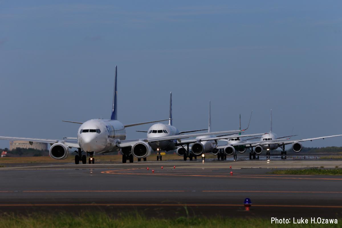 撮影場所:成田空港