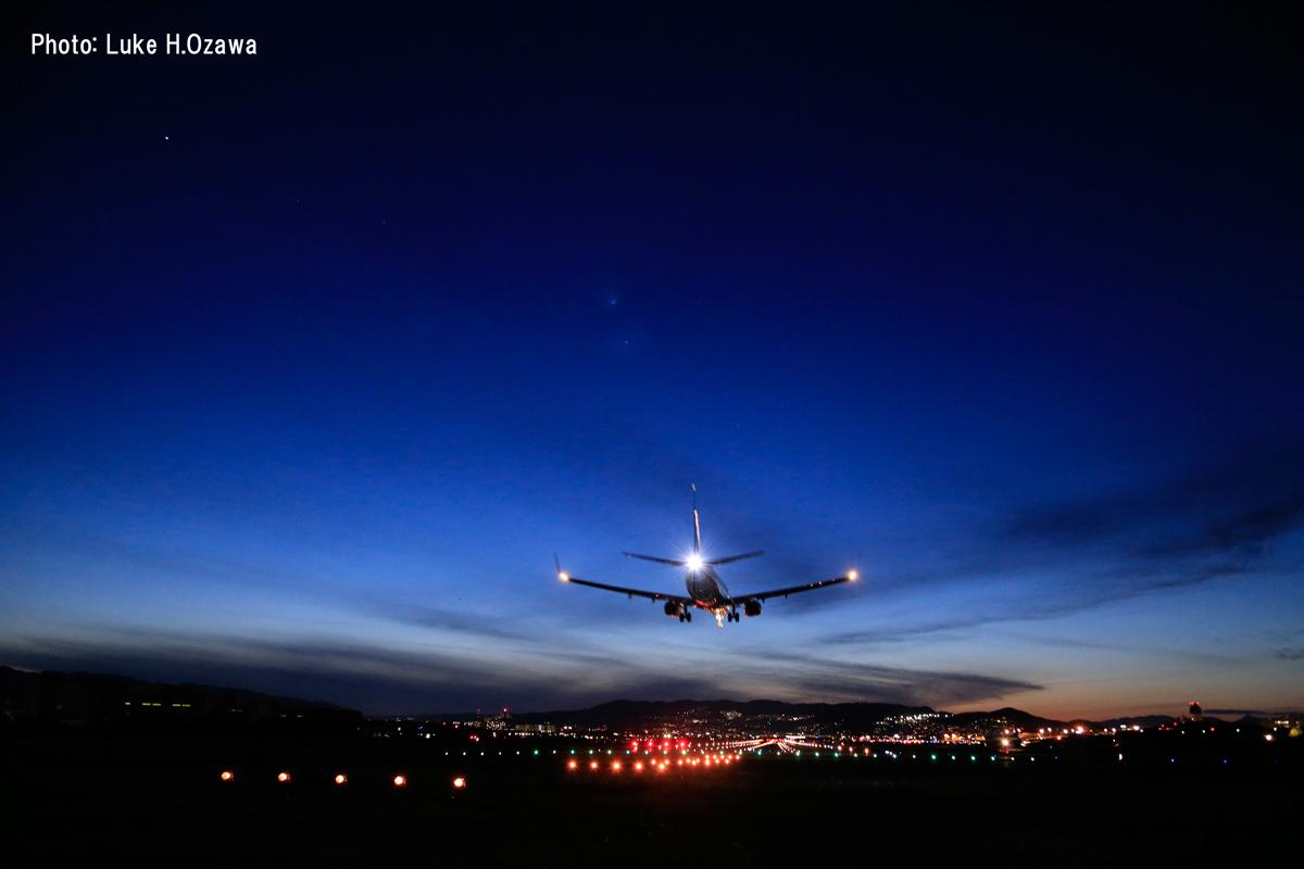 撮影場所:伊丹空港