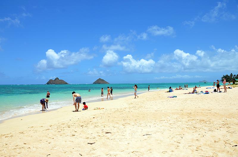 ハワイ・オアフ島で人気のビーチ「ラニカイビーチ」