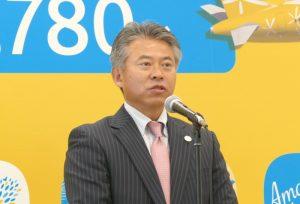 関西エアポート株式会社 執行役員 副最高商業責任者の田中 淳隆氏