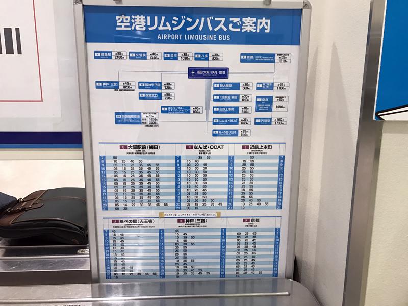 梅田へは10分に1本、なんばへは20分に1本の運転間隔となっている。