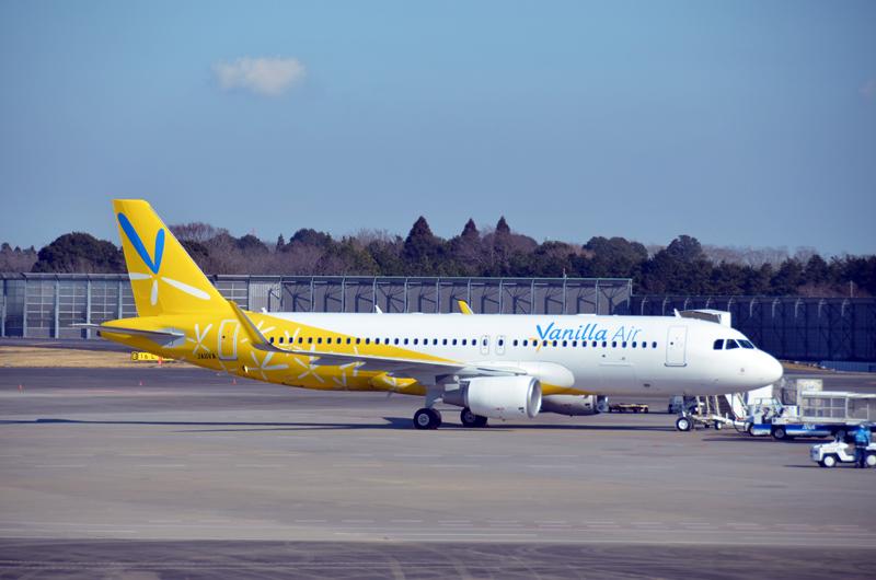 バニラエアは2月に成田~関西・函館、3月には関西~函館・奄美大島線を就航する