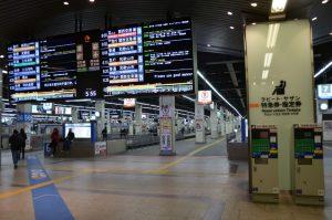 南海電鉄難波駅ホーム