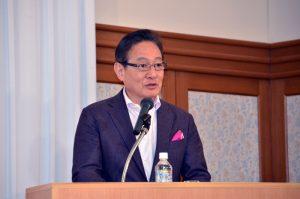 ピーチの井上慎一CEOは会社の独自性を維持する事を強調
