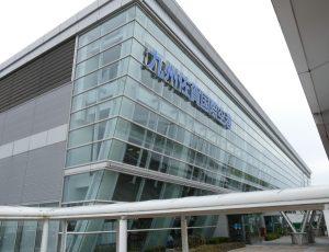 九州佐賀国際空港のターミナルビル