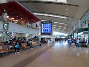 沖縄路線もセールの対象となっている。ジェットスター・ジャパンは那覇空港では国内線ターミナルを使用している