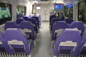 桃園空港MRTの「直達車(Express)」はクロスシート