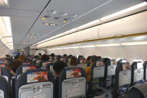 乗客は奄美の方の姿が多くみられた