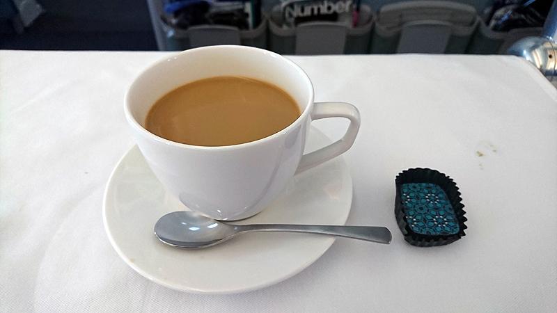 カフェインレスコーヒーとチョコレート