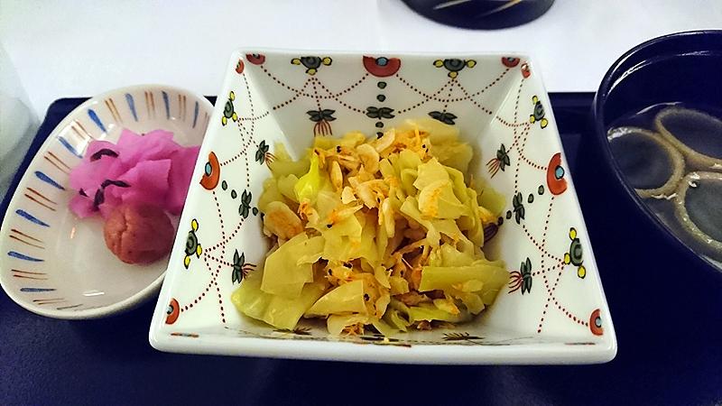 キャベツと桜海老の煮浸し