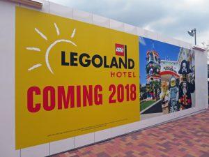 来年にはレゴランド直営ホテルがオープン予定