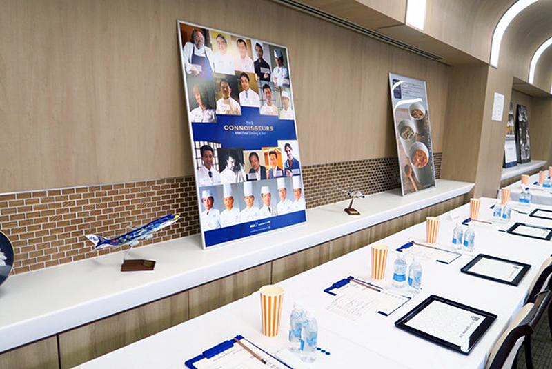 今回の日本酒品評会はANAC川崎工場で行われた