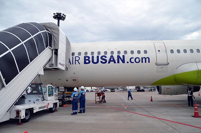 エアプサンのエアバスA321-200型機