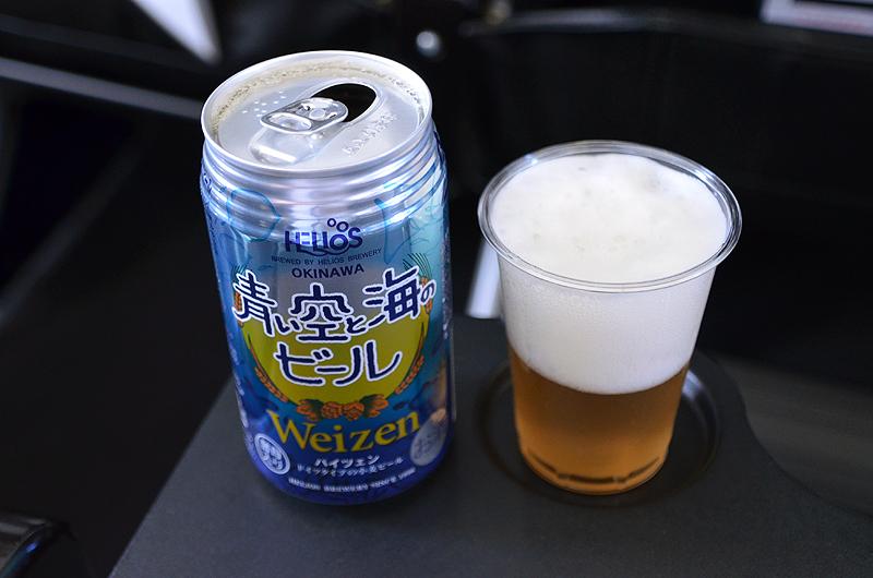 フルーティで喉ごし豊かな味だった。地ビールのクラフトビールとして沖縄県内でも人気