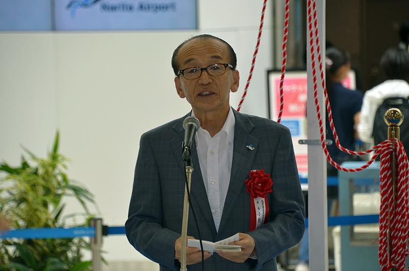 成田市の小泉市長