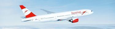 オーストリア航空旅客機画像