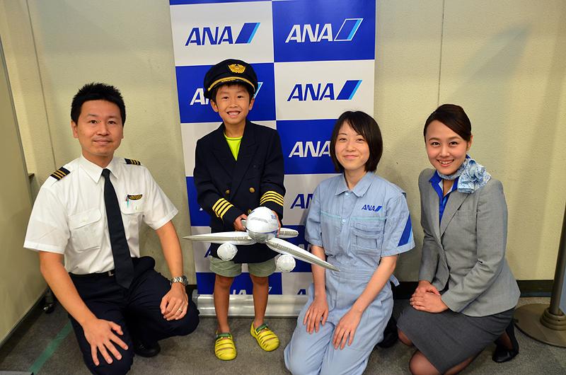 パイロットの制服も大人気
