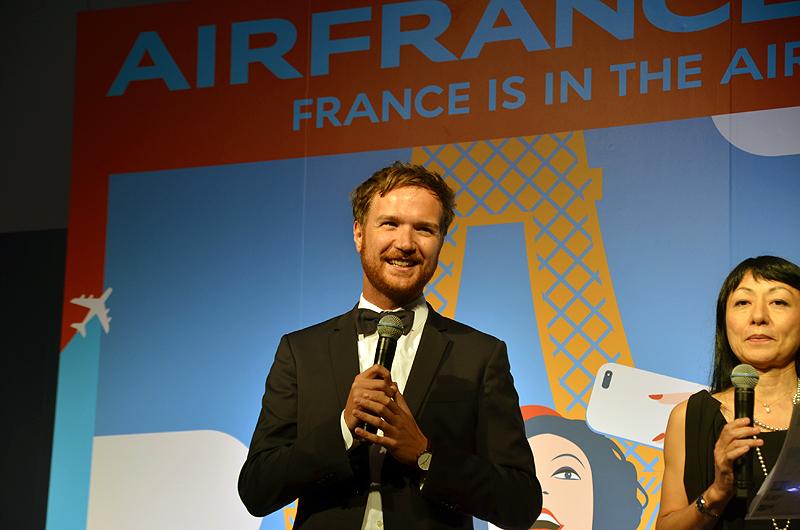 エールフランス航空のコマーシャルディレクターであるジャン・ウッド ドゥ ラ ブルテッシュ氏