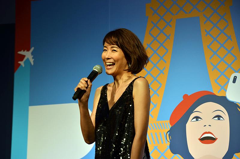 フランスでの思い出やエールフランスの魅力について語ったフリーアナウンサーの内田恭子さん