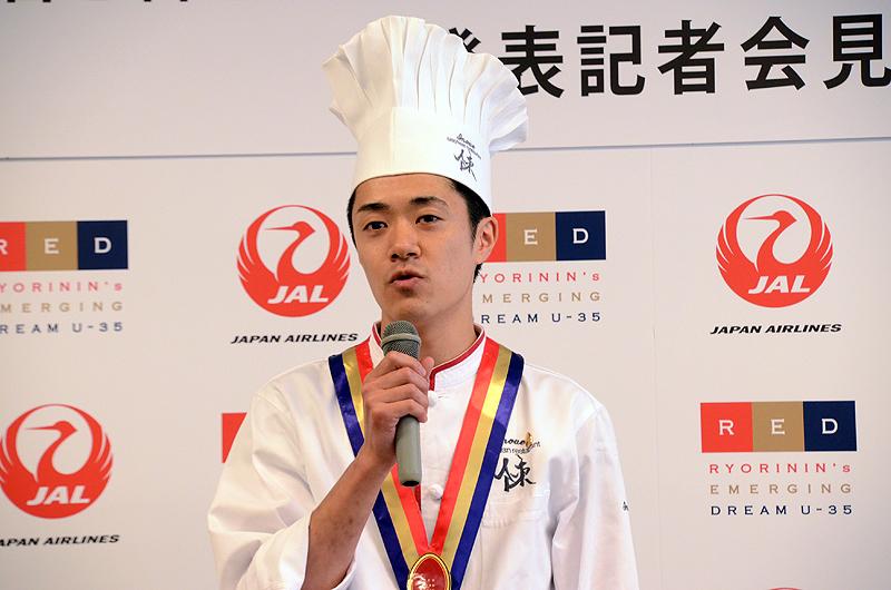中華料理「szechwan restaurant 陳」の井上和豊シェフ