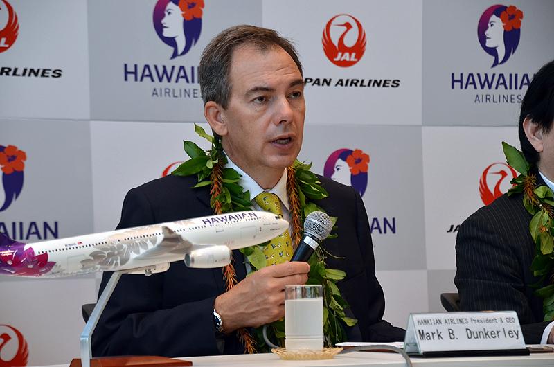 ハワイアン航空のマーク・ダンカリー代表取締役兼CEO