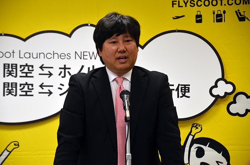 スクートの坪川直樹日本支社長