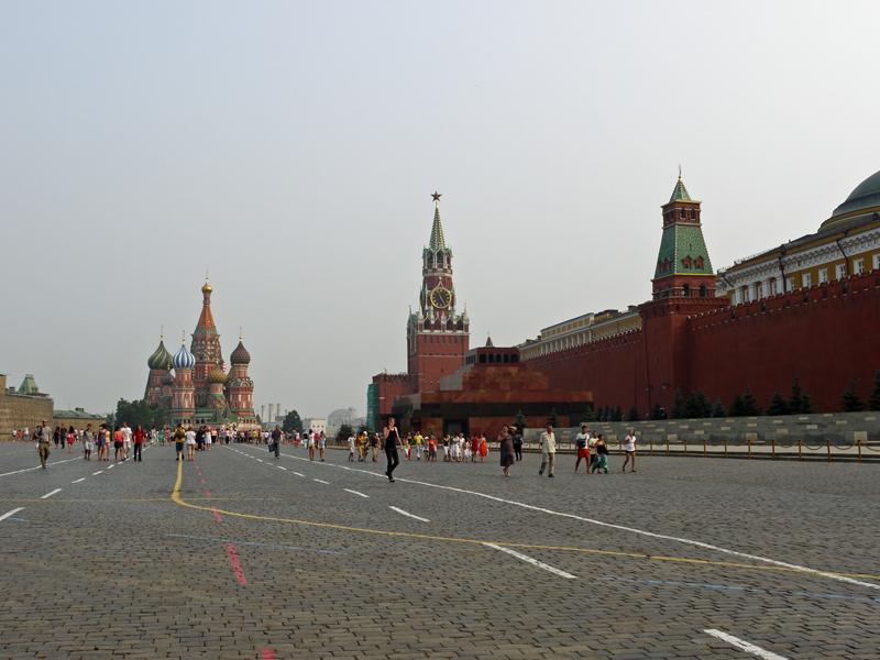 モスクワ「赤の広場」