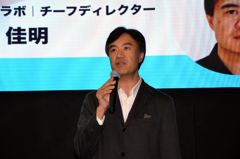 ANAホールディングスのデジタルデザインラボチーフディレクター津田佳明さん