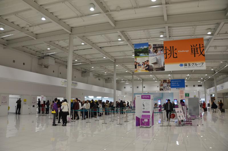 ピーチは使用する関西空港第2ターミナル