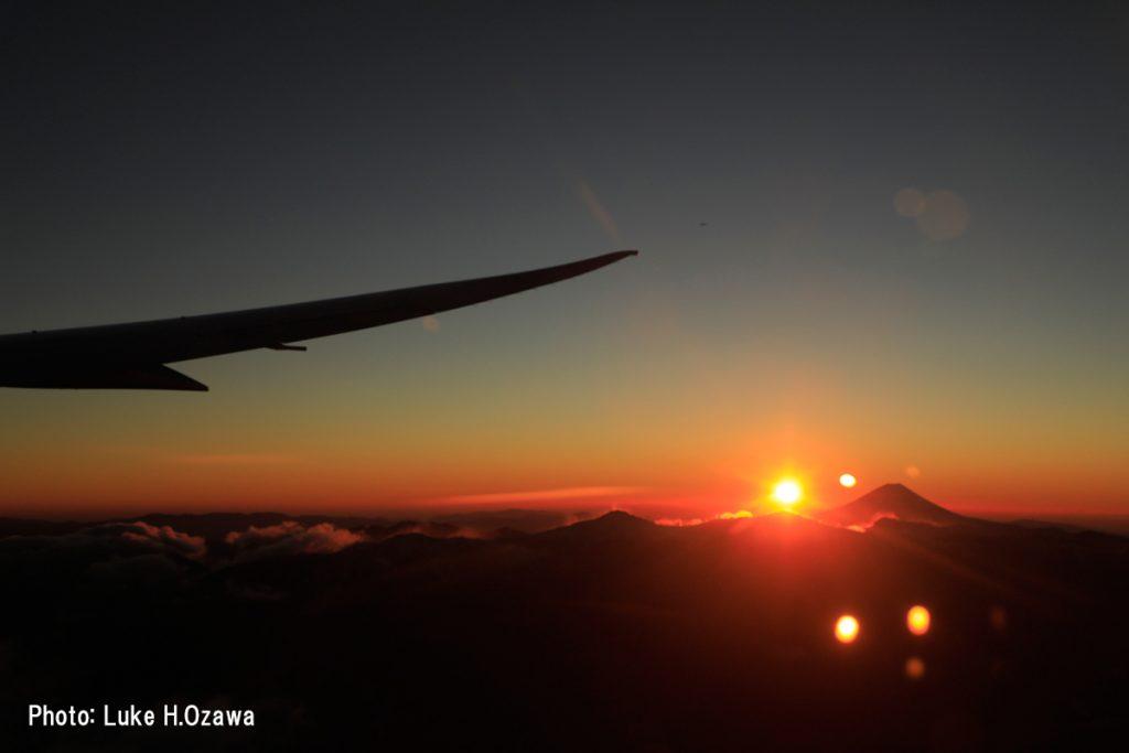 ご来光直後の富士山(その3)