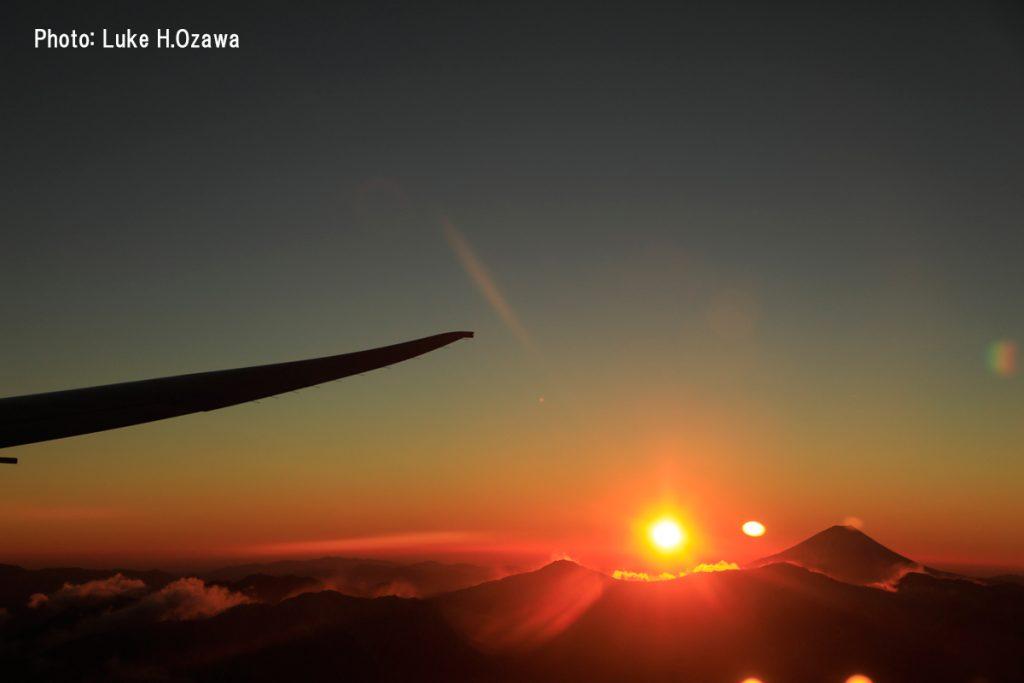 ご来光直後の富士山(その4)