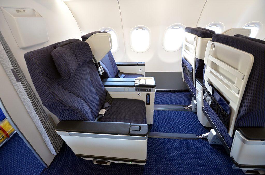 エアバスA321neoの「プレミアムクラス」