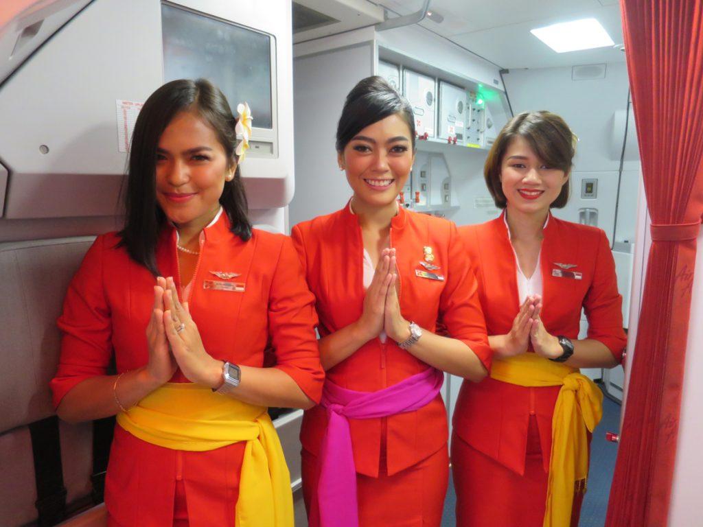 インドネシア・エアアジアXのフライトアテンダント(FA)