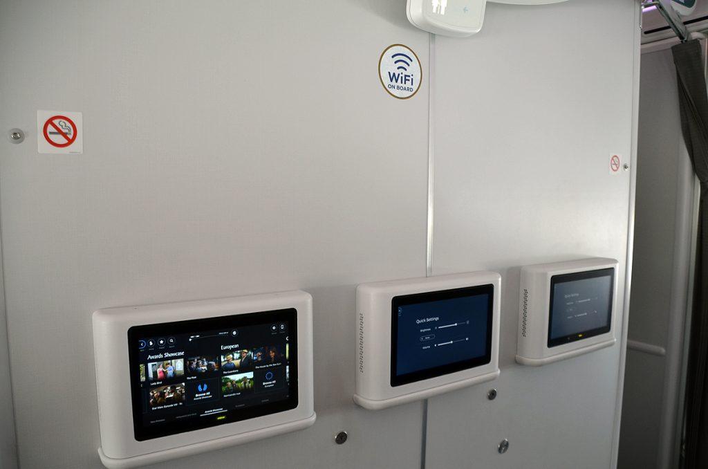 機内Wi-Fiも利用することが可能