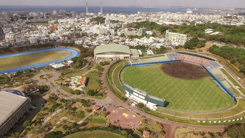 「ANA SPORTS PARK 浦添」という名称に生まれ変わる浦添運動公園