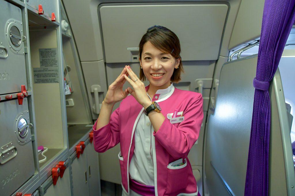 北海道出身の客室乗務員