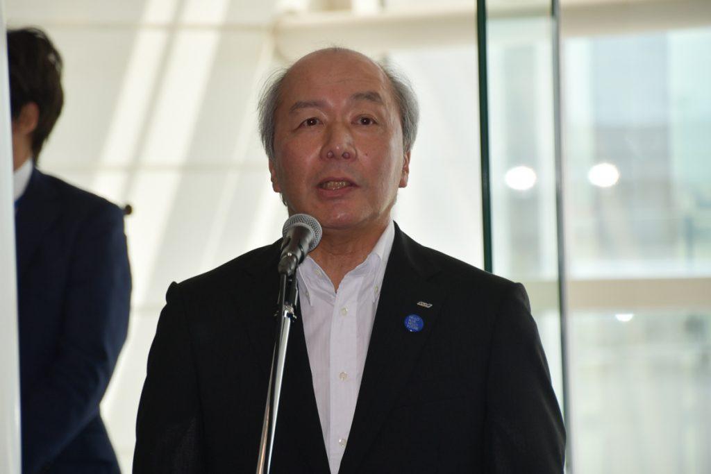 ANAの清水信三代表取締役専務執行役員