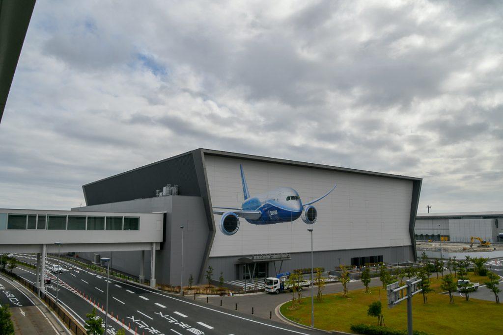 10月12日に開業予定の「FLIGHT OF DREAMS」の外観