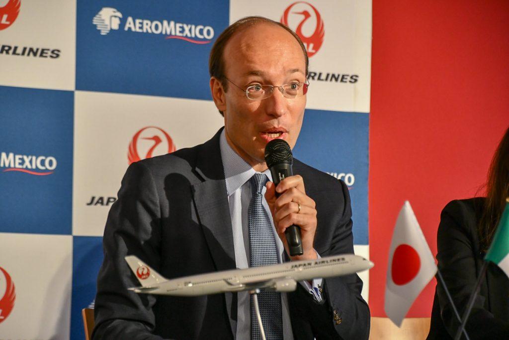 アエロメヒコのアンコ・ヴァン・デル・ヴェルフコマーシャル担当最高責任者