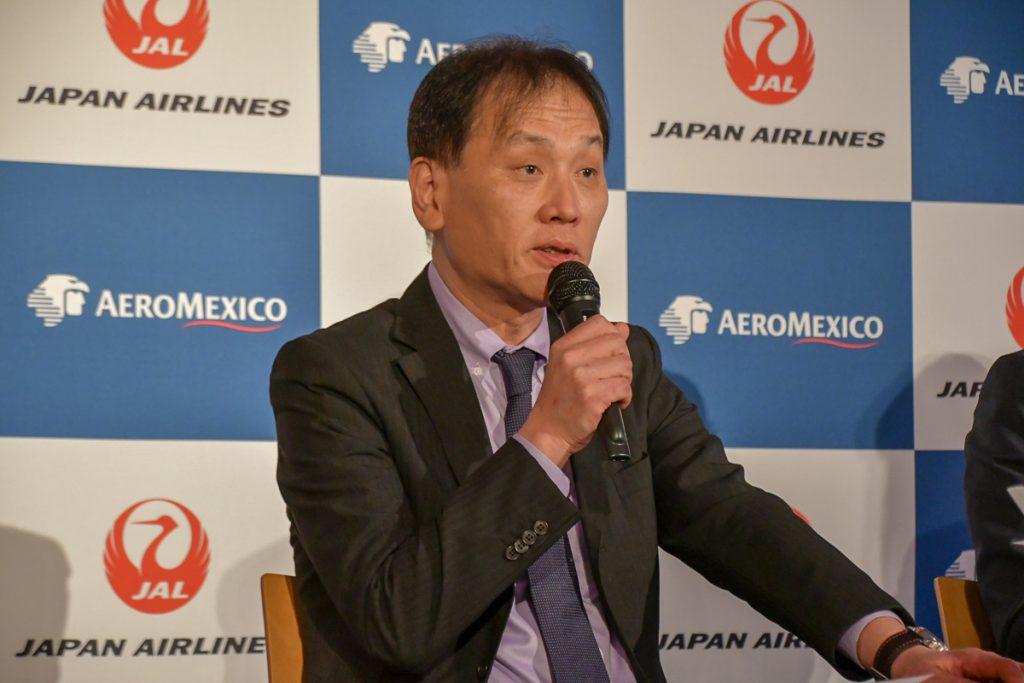 JALの大島秀樹執行役員・国際提携部担当