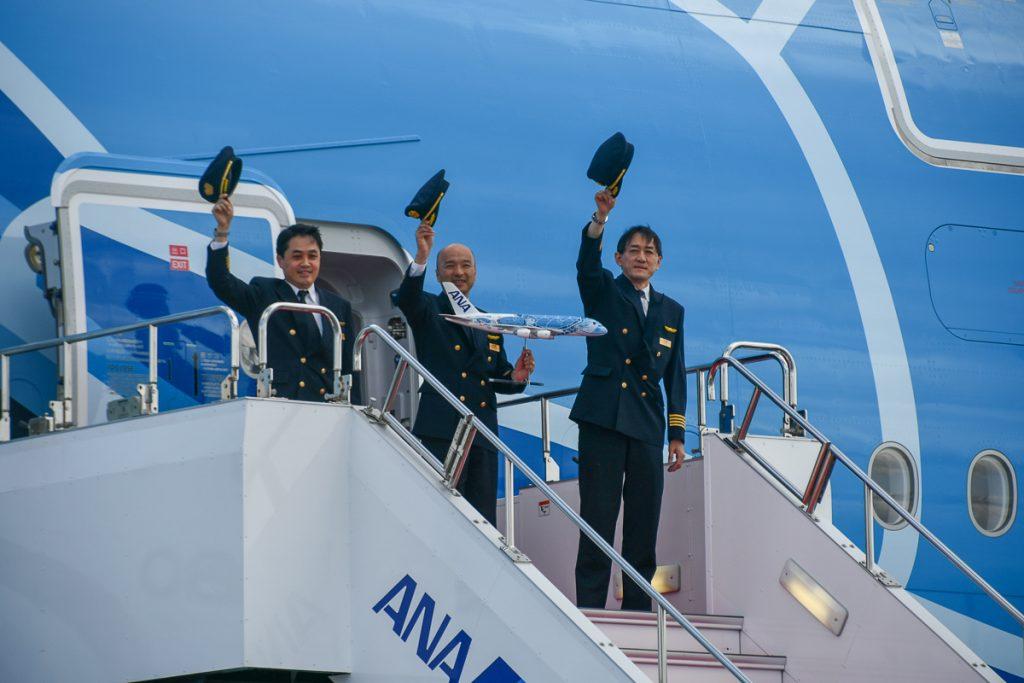 A380を操縦したANAのパイロット