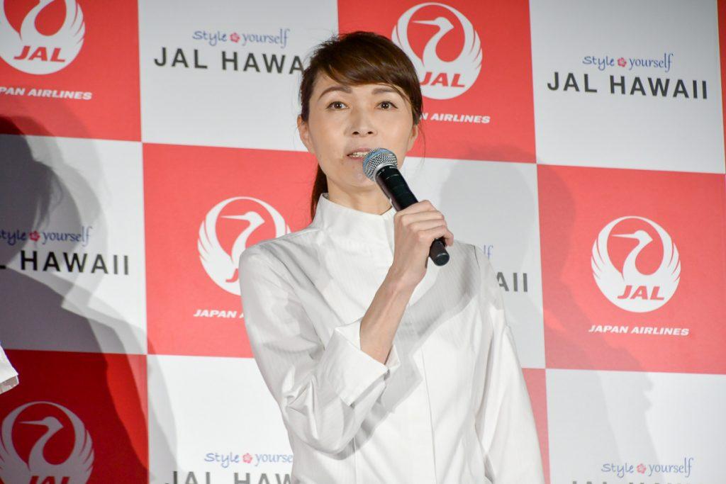 JALハワイ線機内食監修シェフの料理プロデューサー 狐野扶実子さん