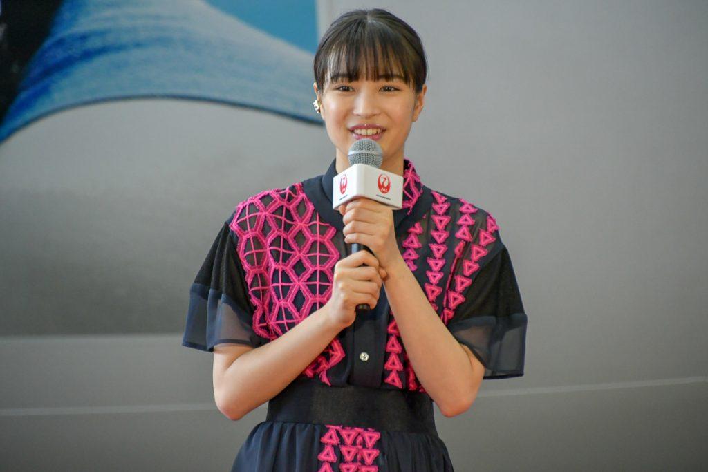 NHK連続テレビ小説「なつぞら」主演の女優の広瀬すずさん