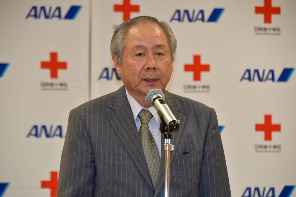 日本赤十字社の宮原保之医療事業推進本部長
