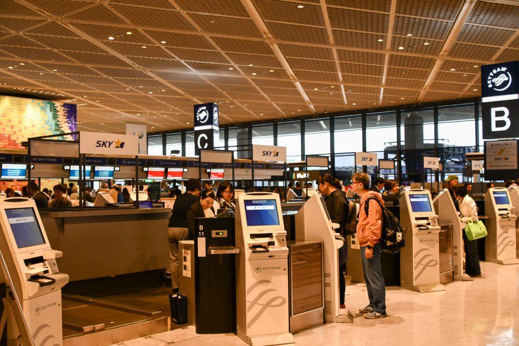 成田空港では第1ターミナル北ウイングを使用