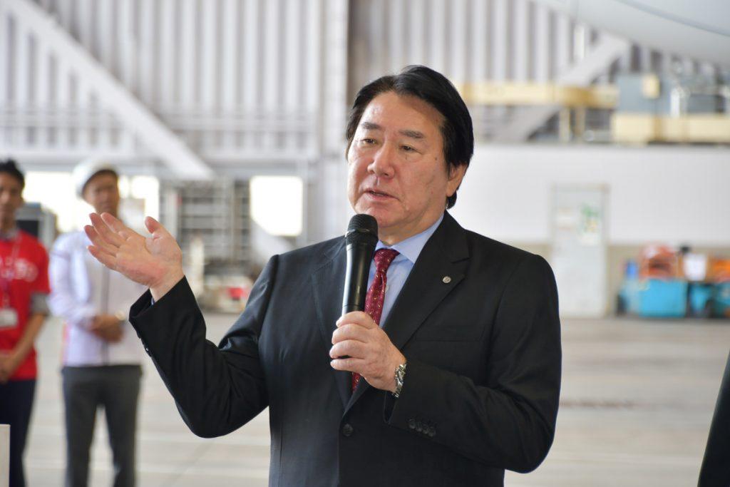JALの植木義晴会長