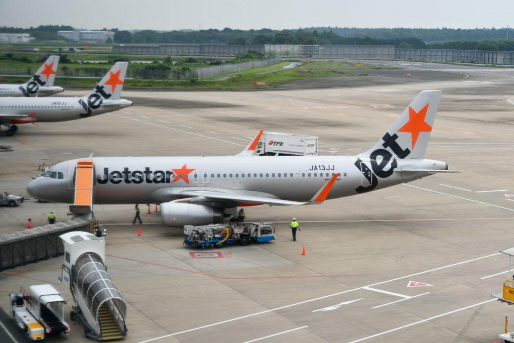 ジェットスター・ジャパンのエアバスA320型機